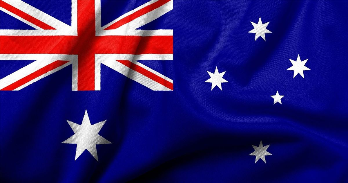 Australian IP address ( Australian flag)
