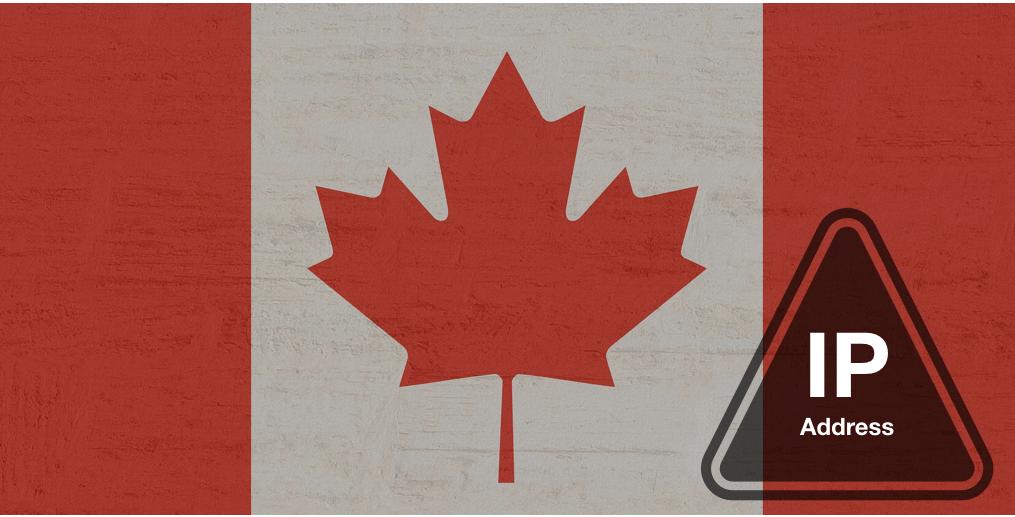 Canada IP address