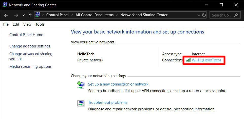 Windows settings image
