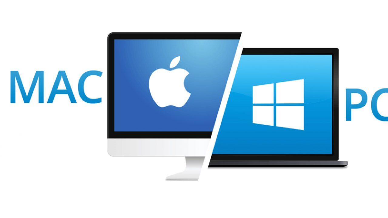 windows and mac