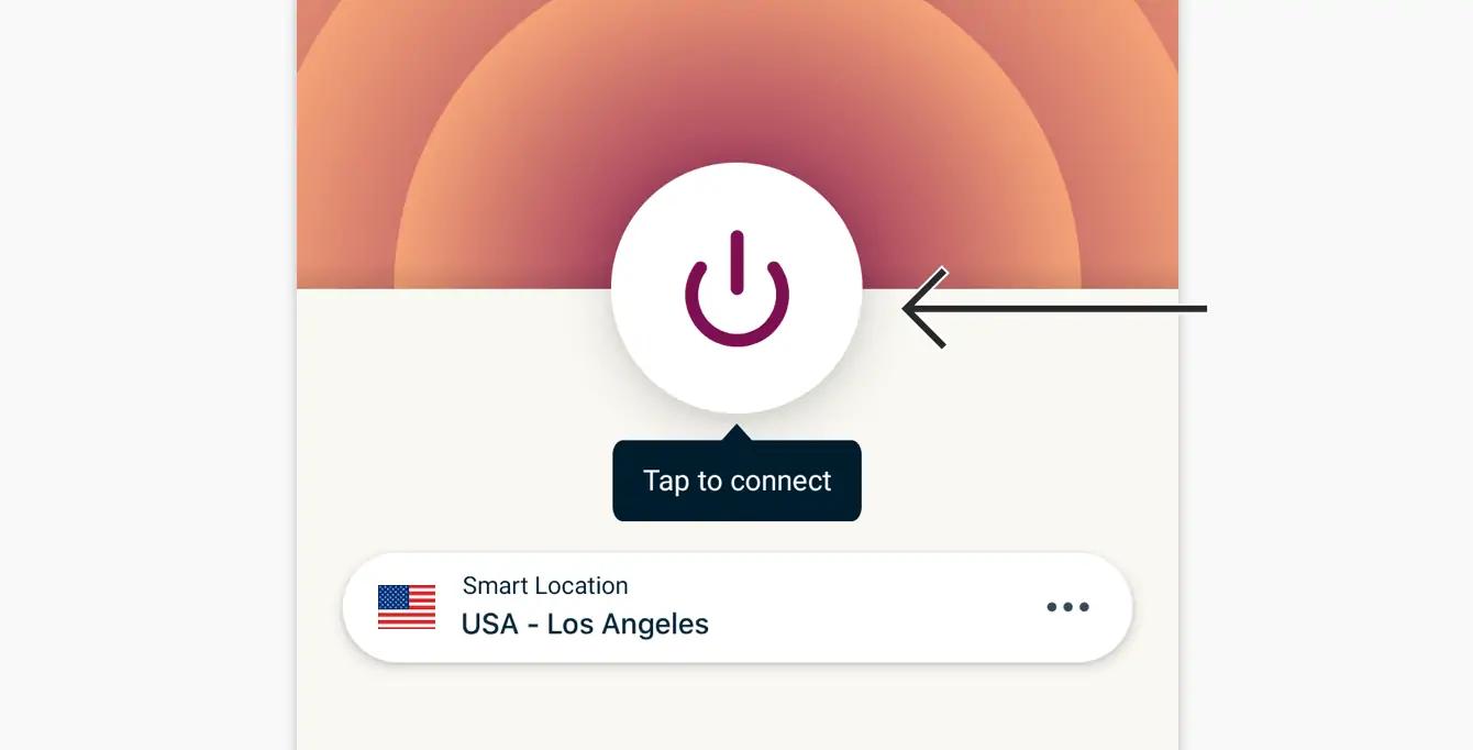 vpn app connection process IP settings